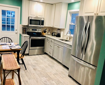 Plymouth, Priscilla Beach MA vacation rental - Brand new kitchen, Stainless Steel Appliances, Quartz counter top