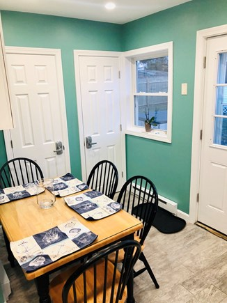 Plymouth, Priscilla Beach MA vacation rental - Dining area