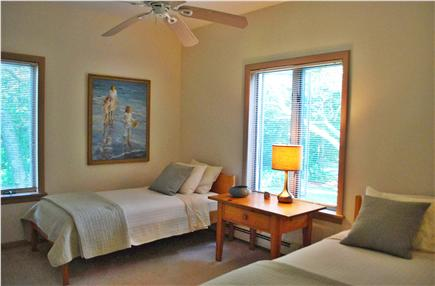 Falmouth, Sippewissett Cape Cod vacation rental - A twin bedded room with vanity and California closet