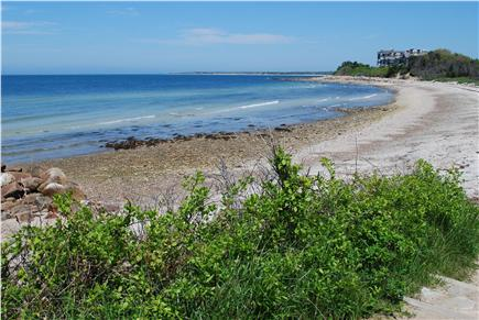 Falmouth, Sippewissett Cape Cod vacation rental - Beautiful private beach right across the street!