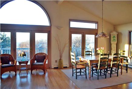 Falmouth, Sippewissett Cape Cod vacation rental - A perfect place to enjoy meals together. Seats up to ten.