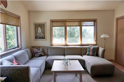 Falmouth, Sippewissett Cape Cod vacation rental - A cozy den for relaxing, reading, playing games or watching TV