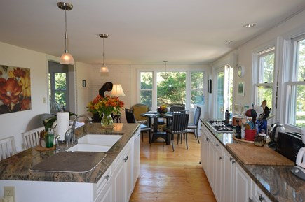 Eastham Cape Cod vacation rental - Large open kitchen with sitting area
