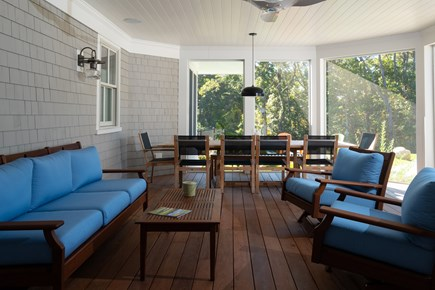 Orleans Cape Cod vacation rental - Screened Porch Area