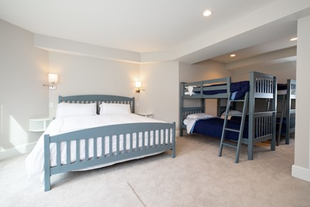 Orleans Cape Cod vacation rental - Bedroom with 2 Sets of Bunks and King