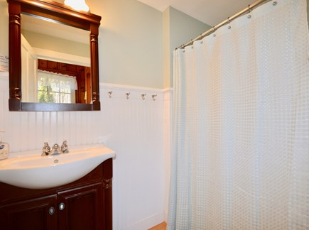 Wellfleet Cape Cod vacation rental - Main level full bath with stand up shower