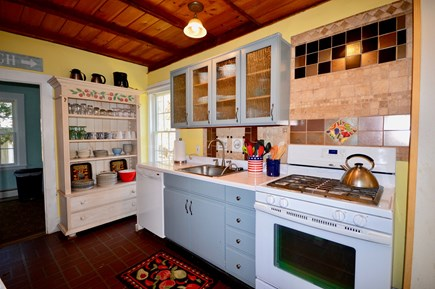 Wellfleet Cape Cod vacation rental - Fully stocked kitchen with up-to-date appliances