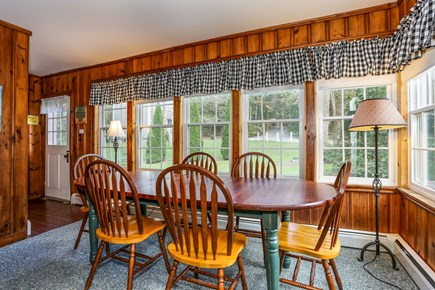 Wellfleet Cape Cod vacation rental - Cozy dining room with access to backyard