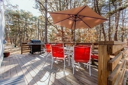 Wellfleet Cape Cod vacation rental - Deck with Grill