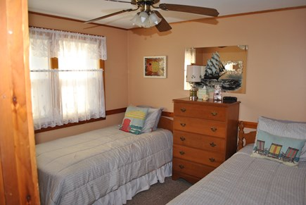 Eastham  Cape Cod vacation rental - Twin beds in third bedroom adjacent to second bath