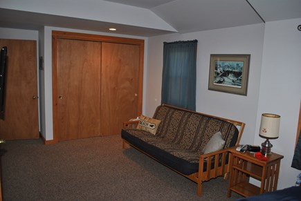 Eastham  Cape Cod vacation rental - TV viewing area in the master bedroom