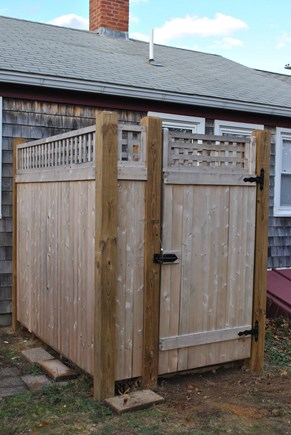 Eastham  Cape Cod vacation rental - Spacious outdoor shower