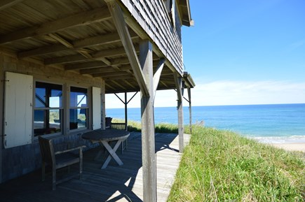 Truro Cape Cod vacation rental - Iconic beachfront home with panoramic views over Ballston Beach