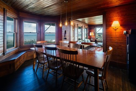 Truro Cape Cod vacation rental - Dining room with beautiful views