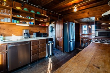 Truro Cape Cod vacation rental - Fully stocked kitchen with plenty of dishware