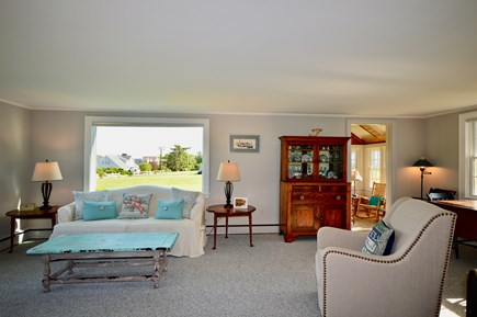 Orleans Cape Cod vacation rental - Main living room w/ picture windows there are blinds for privacy