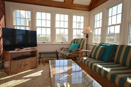 Orleans Cape Cod vacation rental - Sunroom with comforatable seating and flat screen TV