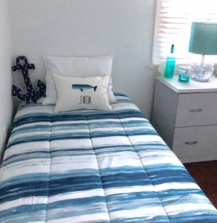 West Yarmouth Cape Cod vacation rental - Bedroom with 2 twin beds