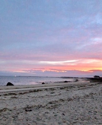West Yarmouth Cape Cod vacation rental - Sunset views from Beach