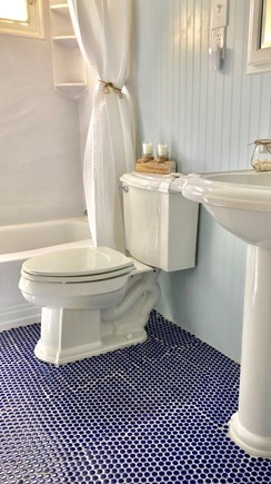 West Yarmouth Cape Cod vacation rental - First floor Guest Bath