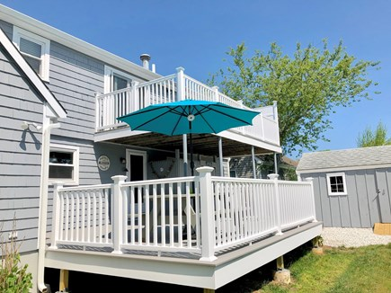 West Yarmouth Cape Cod vacation rental - Beautiful outdoor decks for entertaining
