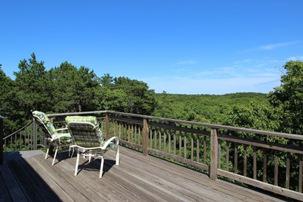 Truro Cape Cod vacation rental - Deck off upstairs bedroom, watch the sun rise over the Atlantic