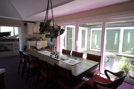 Truro Cape Cod vacation rental - Dining Table seats all guests