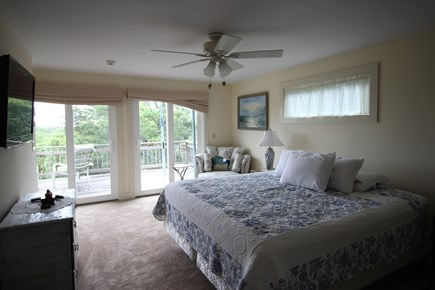 Truro Cape Cod vacation rental - Second level bedroom suite with king bed