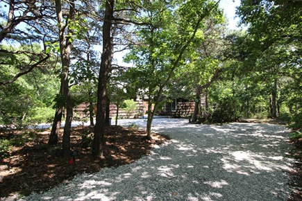 Truro Cape Cod vacation rental - The house is set back on the property