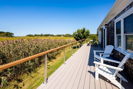 Orleans Cape Cod vacation rental - Beautiful brand new deck overlooking the marsh