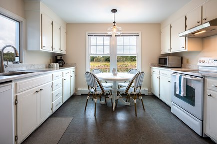 Orleans Cape Cod vacation rental - Updated kitchen with new quartz counters and breakfast table