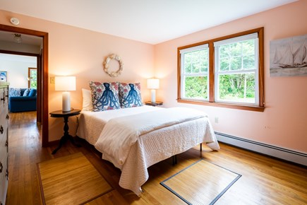 Orleans Cape Cod vacation rental - Main level queen bedroom with mini split AC