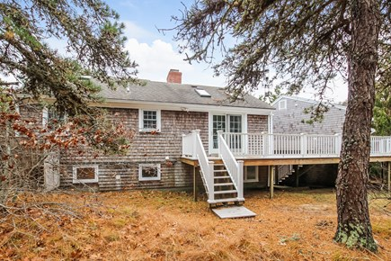 Chatham Cape Cod vacation rental - Back of Home with Nice Deck & Privacy