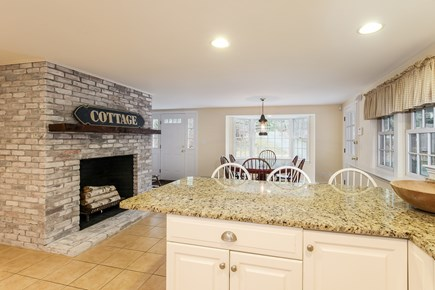 Chatham Cape Cod vacation rental - Kitchen Look Toward Dining