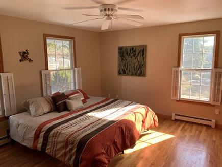 North Truro Cape Cod vacation rental - Evergreen Sunrise room with California King private bath