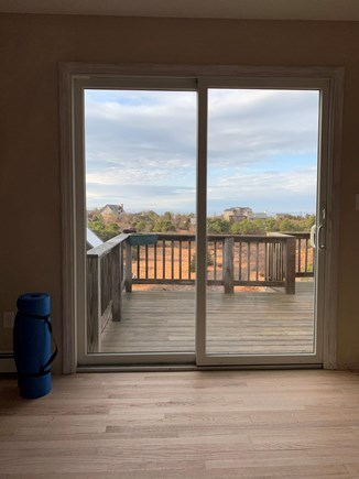 North Truro Cape Cod vacation rental - View from fitness room