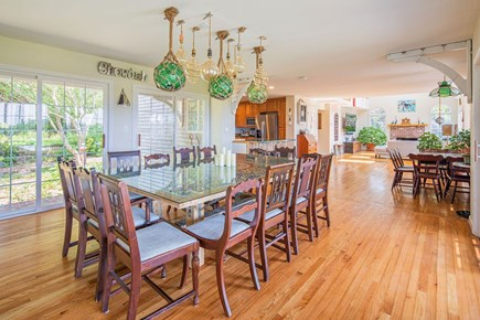 North Truro Cape Cod vacation rental - Dining for 20.