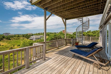 North Truro Cape Cod vacation rental - Deck
