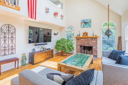 North Truro Cape Cod vacation rental - Living area