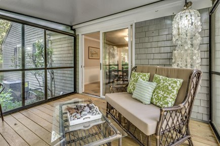 East Sandwich Cape Cod vacation rental - Imagine having dinner on the lovely screened porch