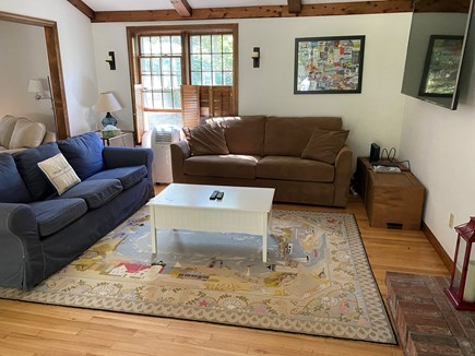 East Sandwich Cape Cod vacation rental - Enjoy the 72 inch flat screen tv comfortably