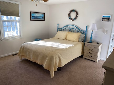 East Sandwich Cape Cod vacation rental - Large, sunny master bedroom with private bathroom.