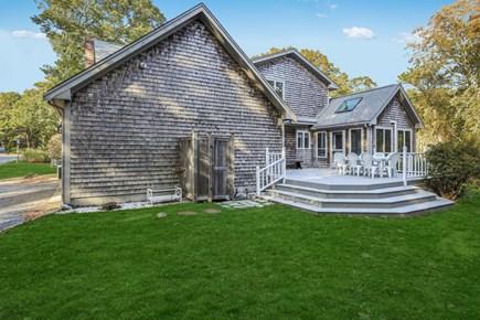 Brewster Cape Cod vacation rental - Spacious back yard