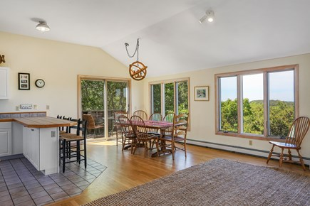 Truro Cape Cod vacation rental - Kitchen to Dining Open to Deck