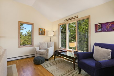 Truro Cape Cod vacation rental - Living Room Reading Nook