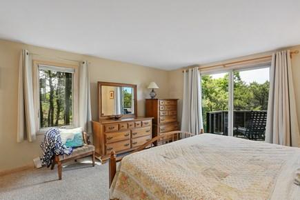 Truro Cape Cod vacation rental - Master Bedroom Suite Opens to Deck