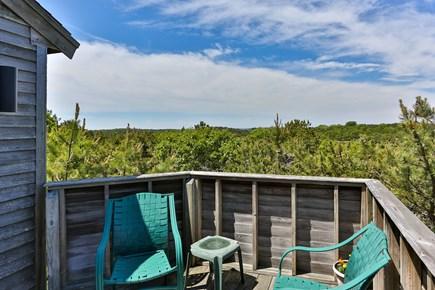 Truro Cape Cod vacation rental - Deck off Living Room