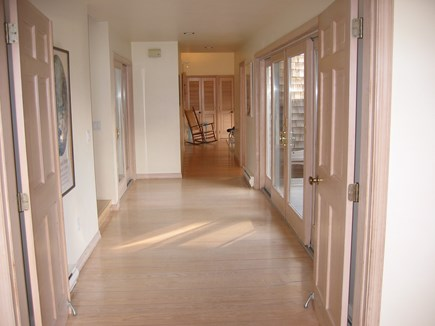 Truro Cape Cod vacation rental - Hallway to kids wing