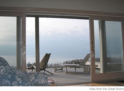 Truro Cape Cod vacation rental - Deck off of living room