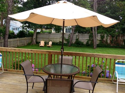 West Harwich Cape Cod vacation rental - Back yard. Very well maintained landscaping